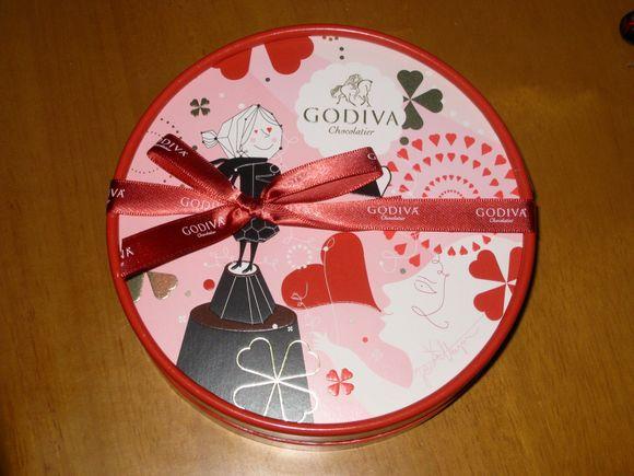 皆さんから沢山のチョコレートをいただき、ありがとうございました、